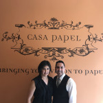Cecila and Nestor Torres, Owners Casa Papel