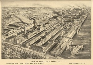 The Disston Saw Works in Tacony.