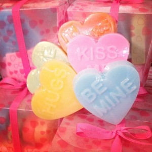 Duross and Langel  HEART SOAPS