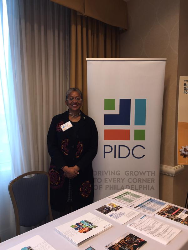 Marla S. Hamilton at the Philadelphia Airport Business Forum.