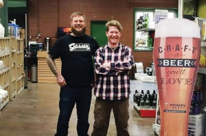 Philly Homebrew owners Jimmy McMillian and Nick Less - Photo Credit: N. Contosta for University City Review