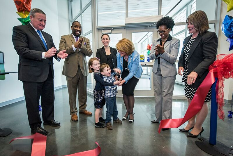 Community Health & Literacy Center Ribbon Cutting - Photo Credit: The Children's Hospital of Philadelphia
