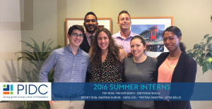 Summer Interns 2016